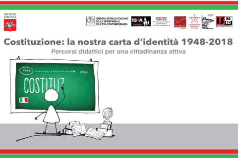 Gli studenti grossetani con Giuliano Amato, Silvana Sciarra, Lucio Villari e Mario Pinotti