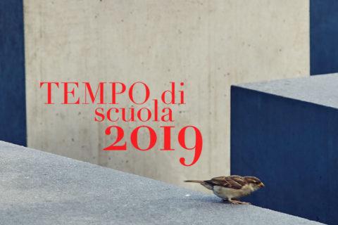 TEMPO DI SCUOLA 2019 – L'offerta didattica dell'Isgrec