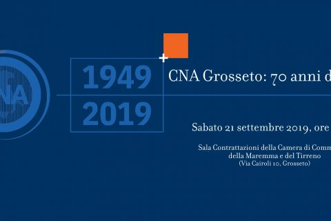 """21 settembre: inaugurazione della mostra """"CNA Grosseto: 70 anni di storia"""""""